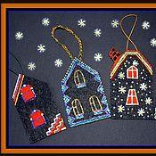 Подарки к праздникам ручной работы. Ярмарка Мастеров - ручная работа Декор для дома Домики. Handmade.