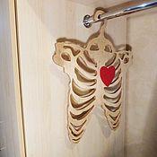 """Вешалки и крючки ручной работы. Ярмарка Мастеров - ручная работа Вешалка для одежды """"Скелет"""". Handmade."""