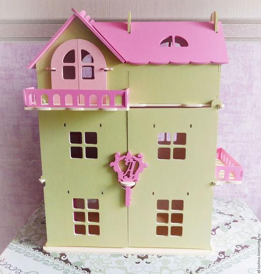Кукольный дом ручной работы. Ярмарка Мастеров - ручная работа. Купить кукольный дом Дарина. Handmade. Кукольный дом, игрушки