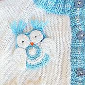 """Работы для детей, ручной работы. Ярмарка Мастеров - ручная работа Детский комплект """"Sleepy owlet"""". Handmade."""
