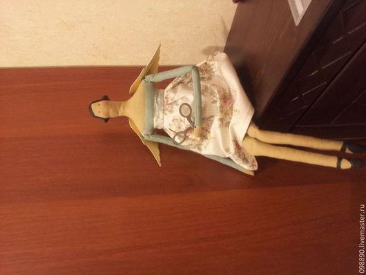 Куклы Тильды ручной работы. Ярмарка Мастеров - ручная работа. Купить Домашний ангел. Handmade. Белый, ангел, хлопок американский