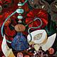 """Натюрморт ручной работы. Ярмарка Мастеров - ручная работа. Купить Картина-панно """"Натюрморт с кальяном"""". Handmade. Картина в подарок, мозаика"""