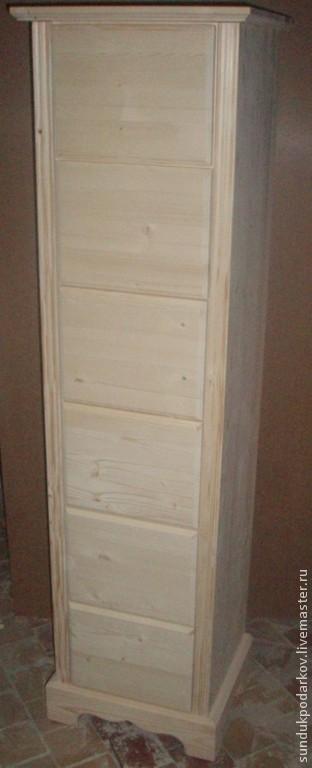 Мебель ручной работы. Ярмарка Мастеров - ручная работа. Купить Комод с гнутыми ножками. Handmade. Бежевый, мебель из дерева