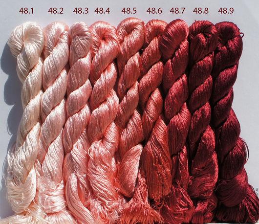 Вышивка ручной работы. Ярмарка Мастеров - ручная работа. Купить Шёлковые нитки. Handmade. Нитки, шелковые нитки