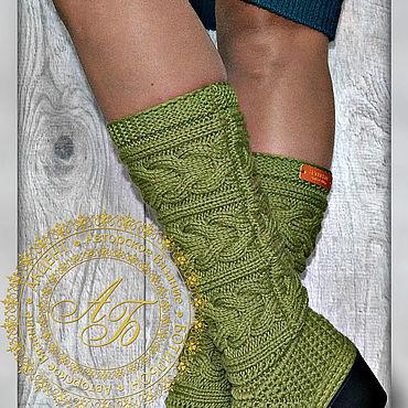 Обувь ручной работы. Ярмарка Мастеров - ручная работа Демисезонные сапожки ....Lidiya quatro .. цвет-фисташка(10)... Handmade.