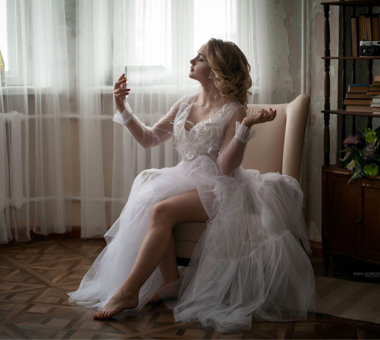 Платье будуарное, Платья, Нижняя Тура,  Фото №1