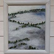"""Картины и панно ручной работы. Ярмарка Мастеров - ручная работа """" Зачарованный лес """". Handmade."""