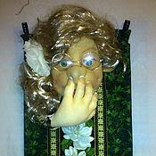 Для дома и интерьера ручной работы. Ярмарка Мастеров - ручная работа Для Марины( кукла мадам Фу - Фу). Handmade.