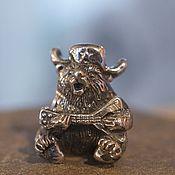 Материалы для творчества handmade. Livemaster - original item Russian bear charm. Handmade.
