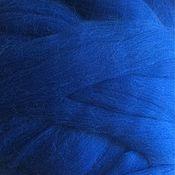 Материалы для творчества handmade. Livemaster - original item Wool Blueface Leicester. Blue Bluefaced Leicester. 50g. Germany.. Handmade.