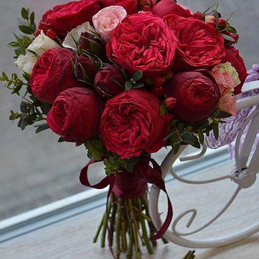 Цветы и флористика ручной работы. Ярмарка Мастеров - ручная работа Букет невесты. Handmade.