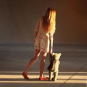 Куклы и игрушки ручной работы. Ярмарка Мастеров - ручная работа 62 см. Вениамин - медведь. Handmade.