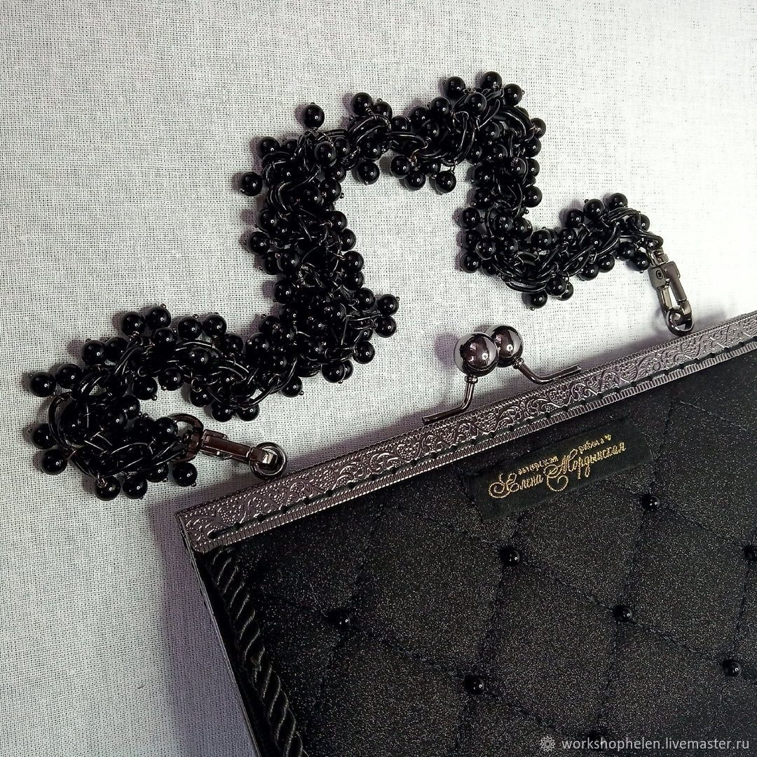 Clutch with black agate, Clutches, Volgorechensk,  Фото №1