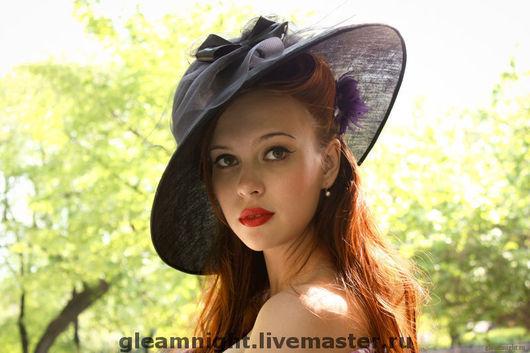 Шляпы ручной работы. Ярмарка Мастеров - ручная работа. Купить Льняная шляпа. Handmade. Шляпа, однотонный, летняя шляпа