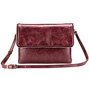 Сумки и аксессуары handmade. Livemaster - original item Womens leather handbag Venus (antique Burgundy). Handmade.