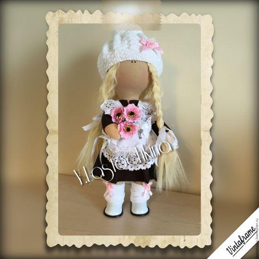 Куклы тыквоголовки ручной работы. Ярмарка Мастеров - ручная работа. Купить Интерьерная куколка. Handmade. Интерьерная кукла, куколка тыквоголовка