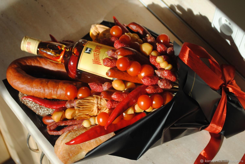 Подарки: Букеты: Охотничий букет, Сладкие букеты, Москва,  Фото №1