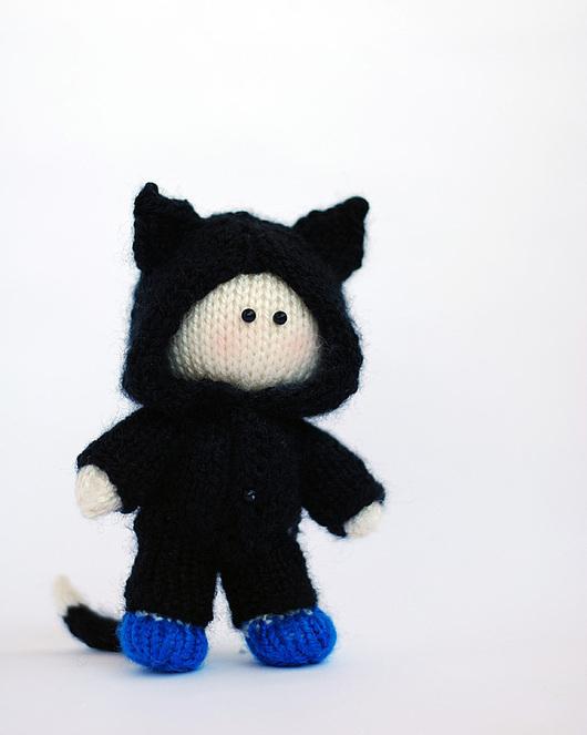 """Обучающие материалы ручной работы. Ярмарка Мастеров - ручная работа. Купить Мастер-класс """"Маленький мальчик в костюме котенка"""". Handmade."""