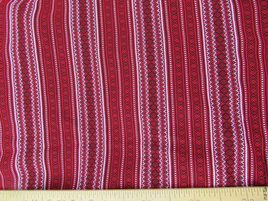 Ткань Орепей красный с белым http://slavuzory.ru/catalog/tkan/6