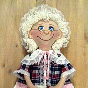 Для дома и интерьера ручной работы. Ярмарка Мастеров - ручная работа Кукла пакетница (бабушка). Handmade.