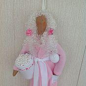 Материалы для творчества ручной работы. Ярмарка Мастеров - ручная работа Набор для шитья куклы Хранительница ватных дисков и палочек. Handmade.