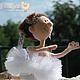 """Коллекционные куклы ручной работы. """"Подающая большие надежды"""". Наталья Савинова куклы из шерсти. Ярмарка Мастеров. Кукла, авторская игрушка"""