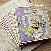 Cards handmade. Livemaster - original item Greeting cards. Handmade.
