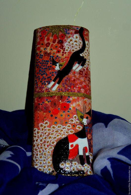 """Футляры, очечники ручной работы. Ярмарка Мастеров - ручная работа. Купить Футляр для очков """"Прогулка со звездой"""". Handmade. Разноцветный"""