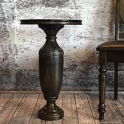 Для дома и интерьера handmade. Livemaster - original item Round oak coffee table. Handmade.
