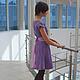 """Платья ручной работы. Платье ручной работы """"Lilac maelstrom"""". Anastasia Serebryannikova (muza888). Ярмарка Мастеров. Авторская ручная работа"""