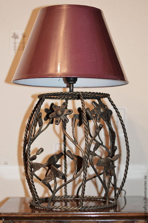 Освещение ручной работы. Ярмарка Мастеров - ручная работа. Купить Настольная лампа. Handmade. Светильник, интерьерное украшение, уютный дом