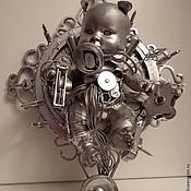 Скульптуры ручной работы. Ярмарка Мастеров - ручная работа Steampunk Pups. Handmade.