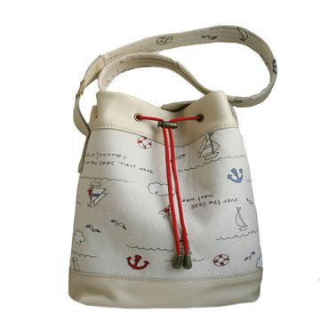 """Сумки и аксессуары ручной работы. Ярмарка Мастеров - ручная работа Сумка торба """"Море зовет"""" сумка мешок. Handmade."""