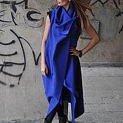 Одежда handmade. Livemaster - original item Fashionable, cashmere coat without clasp - VE0005CA. Handmade.