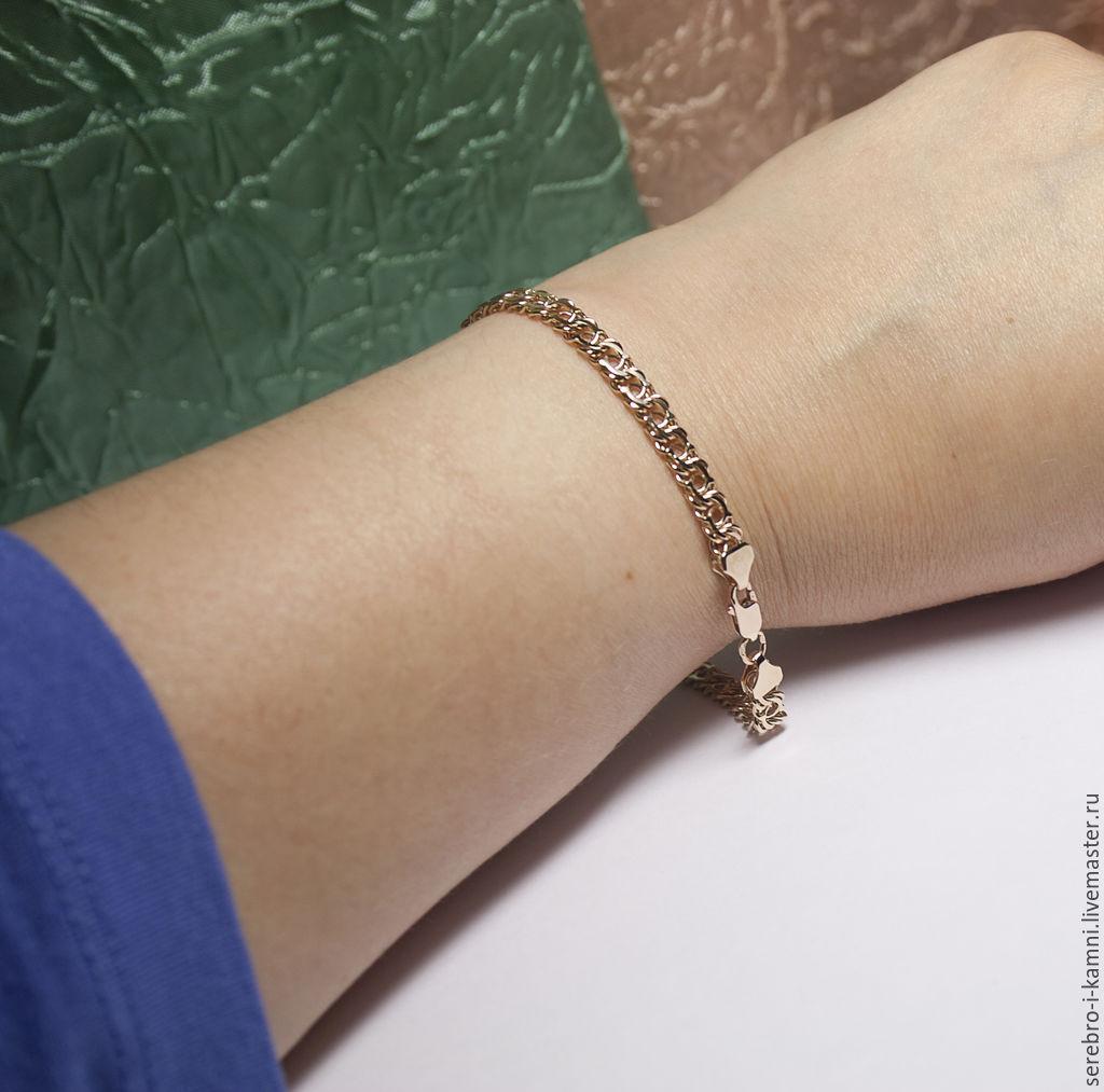Браслет-цепочка: золотой браслет Арабский бисмарк (золото 585) – заказать на Ярмарке Мастеров – 6KH0JRU | Браслет-цепочка, Орел