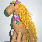 """Куклы и игрушки ручной работы. Ярмарка Мастеров - ручная работа Ароматическая лошадка """"Ветер лета"""". Handmade."""