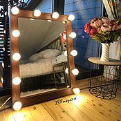 Для дома и интерьера handmade. Livemaster - original item Make-up mirror AMERICAN WALNUT. Handmade.