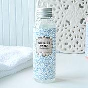 Косметика ручной работы. Ярмарка Мастеров - ручная работа Мицеллярная вода с витаминами для снятия макияжа. Handmade.