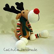 Куклы и игрушки handmade. Livemaster - original item Deer toy Christmas. Handmade.