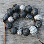 Necklace handmade. Livemaster - original item Ceramic necklace