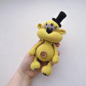 Куклы и игрушки ручной работы. Ярмарка Мастеров - ручная работа Мишутка-малютка вязаная игрушка. Handmade.