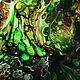 Картины: абстракция Зеленая роща акрил, Панно, Москва,  Фото №1