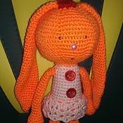 Куклы и игрушки ручной работы. Ярмарка Мастеров - ручная работа Модная зайка. Handmade.