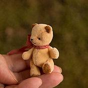"""Куклы и игрушки ручной работы. Ярмарка Мастеров - ручная работа мишка тедди 5,5 см. """"Чур я в домике!"""". Handmade."""
