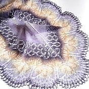 Аксессуары handmade. Livemaster - original item Iris shawl openwork (openwork Shawl from County knitting). Handmade.