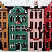 """Для дома и интерьера ручной работы. Ярмарка Мастеров - ручная работа Ключница большая """"Гамла Стан"""". Handmade."""