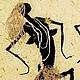 """Этно ручной работы. Картина """"Папуа"""". Бумага ручной работы. Алла Кузьмина. Ярмарка Мастеров. Африка, этно, папуасы"""