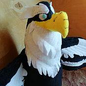 Куклы и игрушки handmade. Livemaster - original item A wise grandfather eagle eagle m/f Leo and TIG. Handmade.