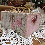 """Для дома и интерьера ручной работы. Ярмарка Мастеров - ручная работа Короб для хранения """" Кантри  """". Handmade."""