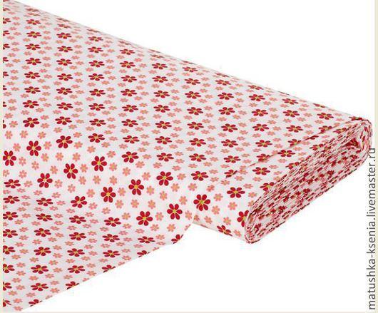 """Шитье ручной работы. Ярмарка Мастеров - ручная работа. Купить Хлопок  Германия  """"Летние цветы""""  тканей для тильды, пэчворка. Handmade."""